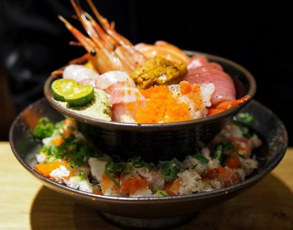 Manjedad Donburi 瞒着爹 – Popular Japanese Restaurant In Taipei, With Two-tiered Chirashi Don