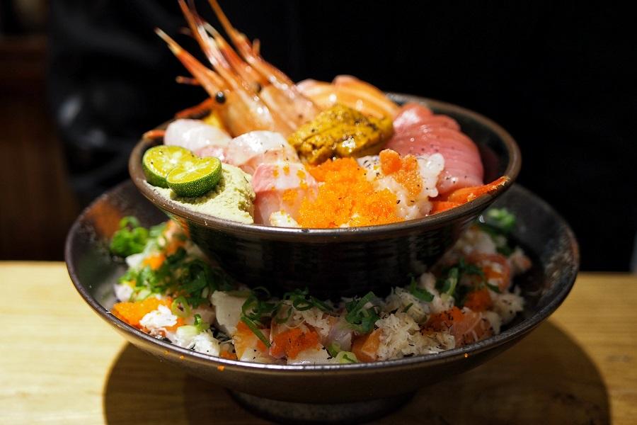 Manjedad Donburi 瞒着爹 – Popular Japanese Restaurant In Taipei, With Two-tiered Chirashi Don