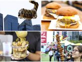 Prudential Marina Bay Carnival – All The FOOD To Try, From Double Stacker Burger, Super Long Karaage, To Meatballs In Bucket