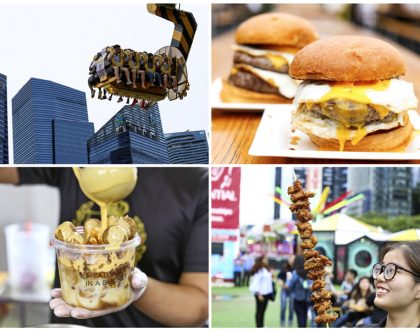 Prudential Marina Bay Carnival – All The FOOD From Meatballs In Bucket, Fried Milk To Charcoal Matcha