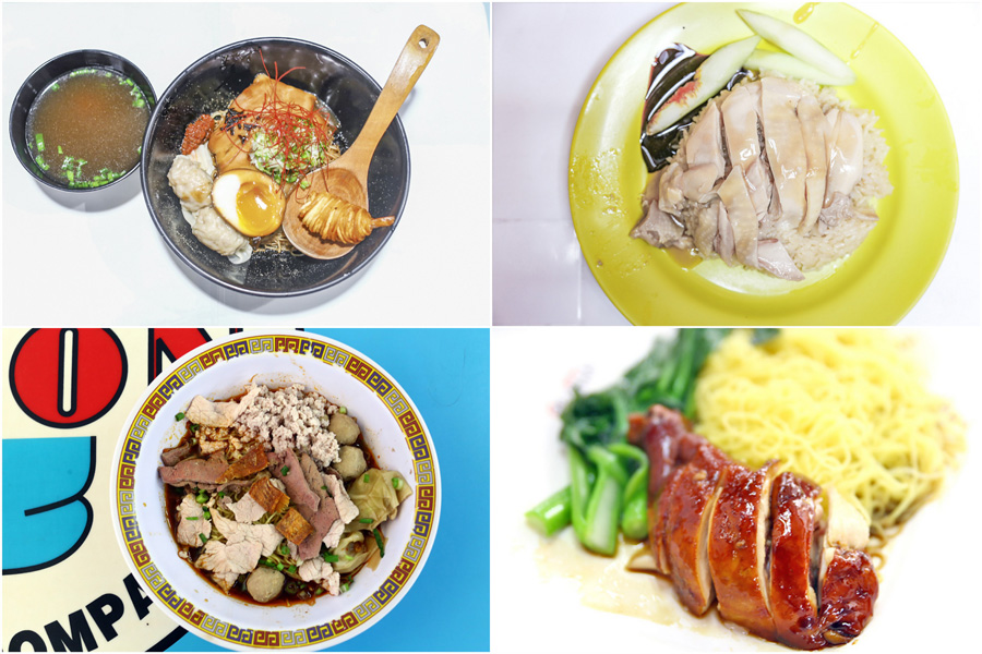 "10 ""Michelin"" Hawker Stalls In Singapore - From Tai Hwa Bak Chor Mee, Hawker Chan, To A Noodle Story"