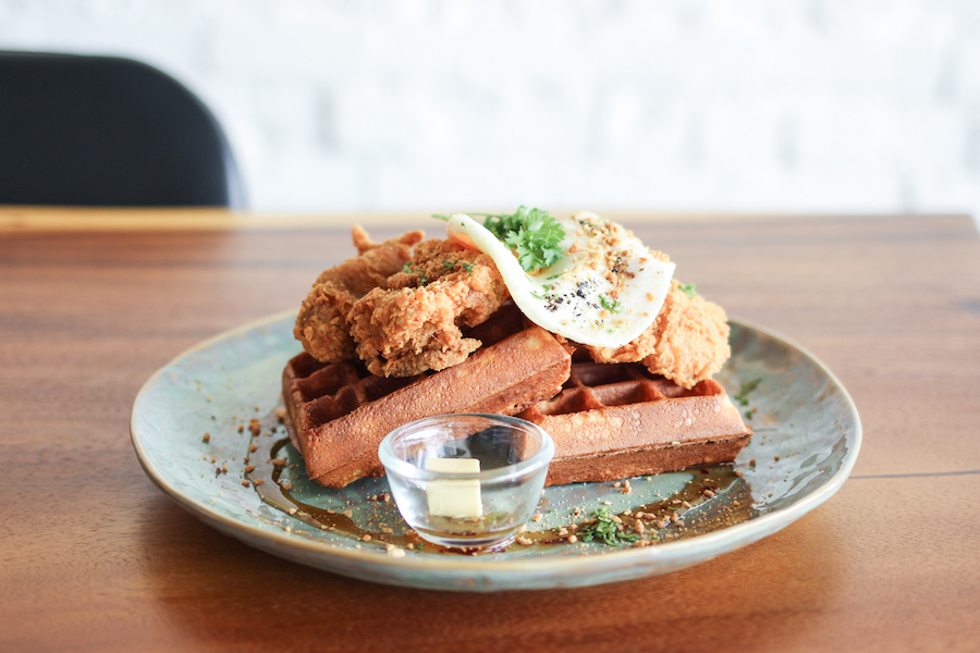 Mrs. Who - Cafe With Brunch Food Of Chicken Waffles And Beautiful Aesthetics, At Johor Bahru