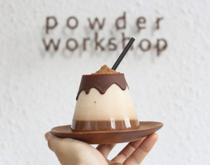 Powder Workshop Café – Famous For The Milo Mountain, Quaint Café At Taipei Near Yong Kang Street
