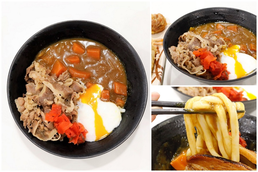 Tamoya Udon - NEW Beef Onsen Egg CURRY Udon, Authentic Inexpensive Udon At Liang Court