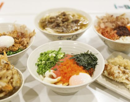Tamoya Udon - Authentic Inexpensive Udon At Liang Court, NEW Dried Sakura Ebi and Beef Sukiyaki Udon