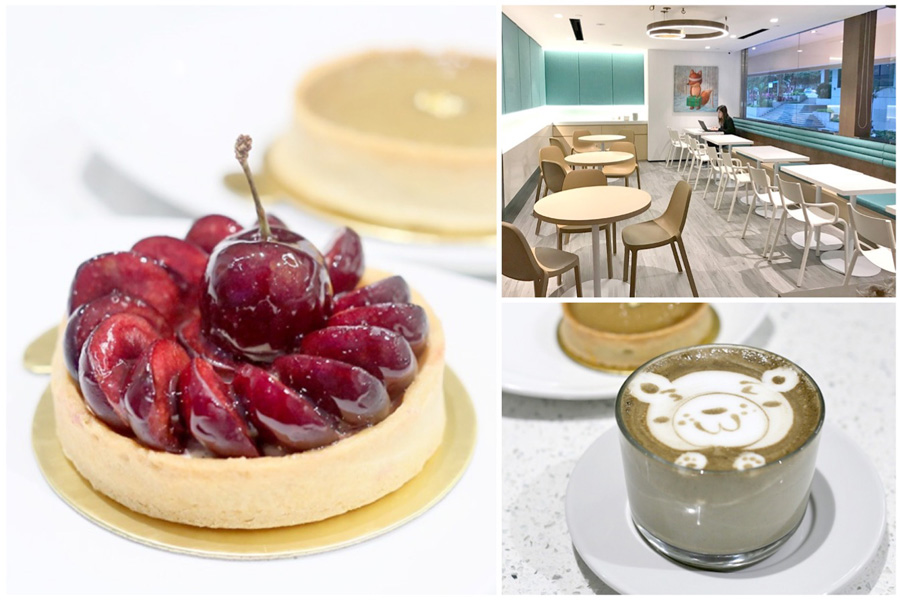 Tarte by Cheryl Koh - Sit-Down Patisserie With More Cakes & Coffee, At Shaw Centre Level 2