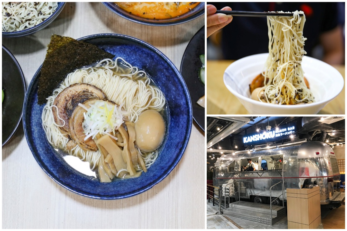 Kanshoku Ramen Bar Northpoint City – Offering Yuzu And Truffle Ramen. Look Out For The Food Truck