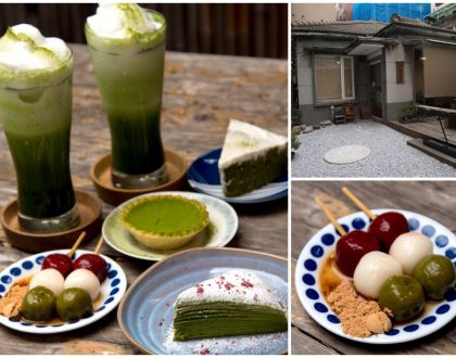 Le Naturalisme 裸體主義 - Matcha Desserts & Drinks So 'Gao' And Satisfying, At Kaohsiung, Taiwan