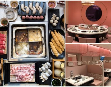 Beauty In The Pot – NEW Princess Pink Hotpot Restaurant At OneKM, With 6 Soup Bases