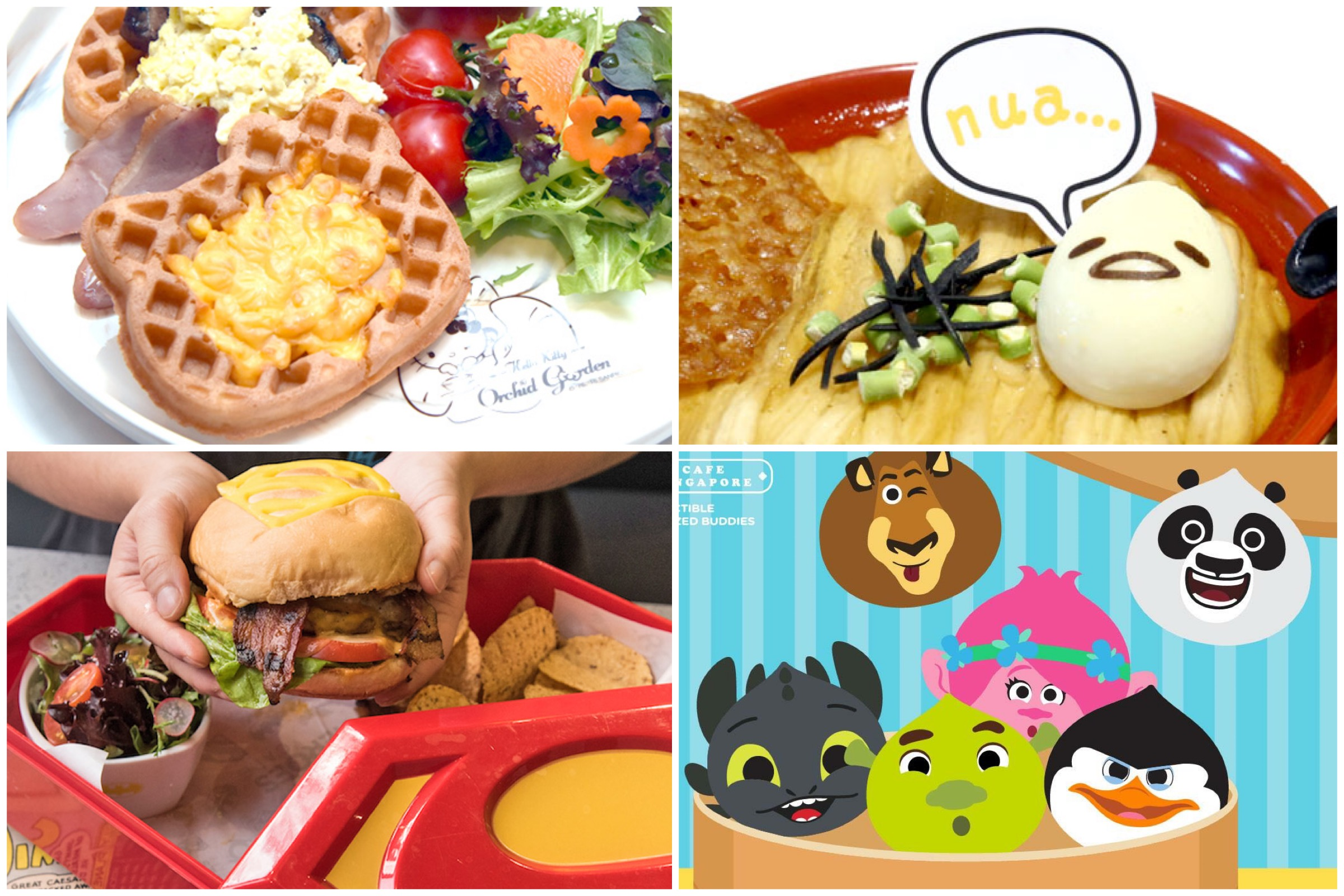 8 Best Character Cafes In Singapore, Including Gudetama Cafe, Hello Kitty Orchid Garden And DreamWorks KouKou Café