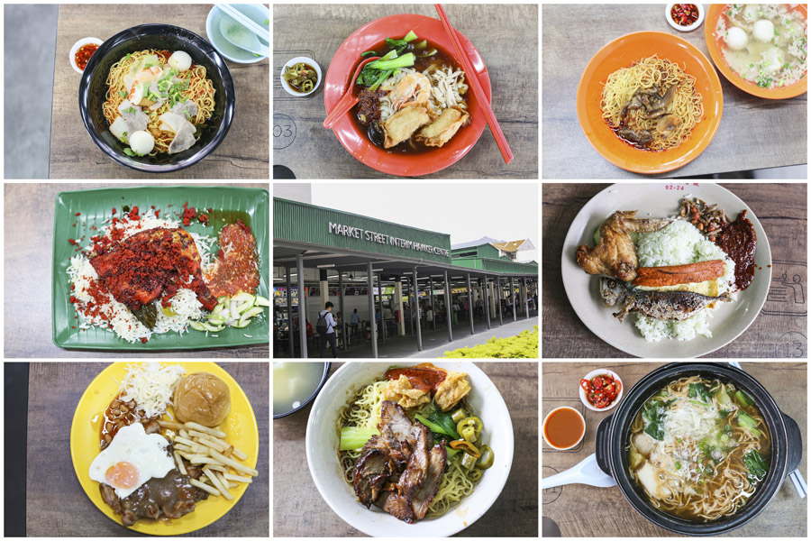 Market Street Hawker Centre - 10 Best Stalls From The Former Golden Shoe Food Centre