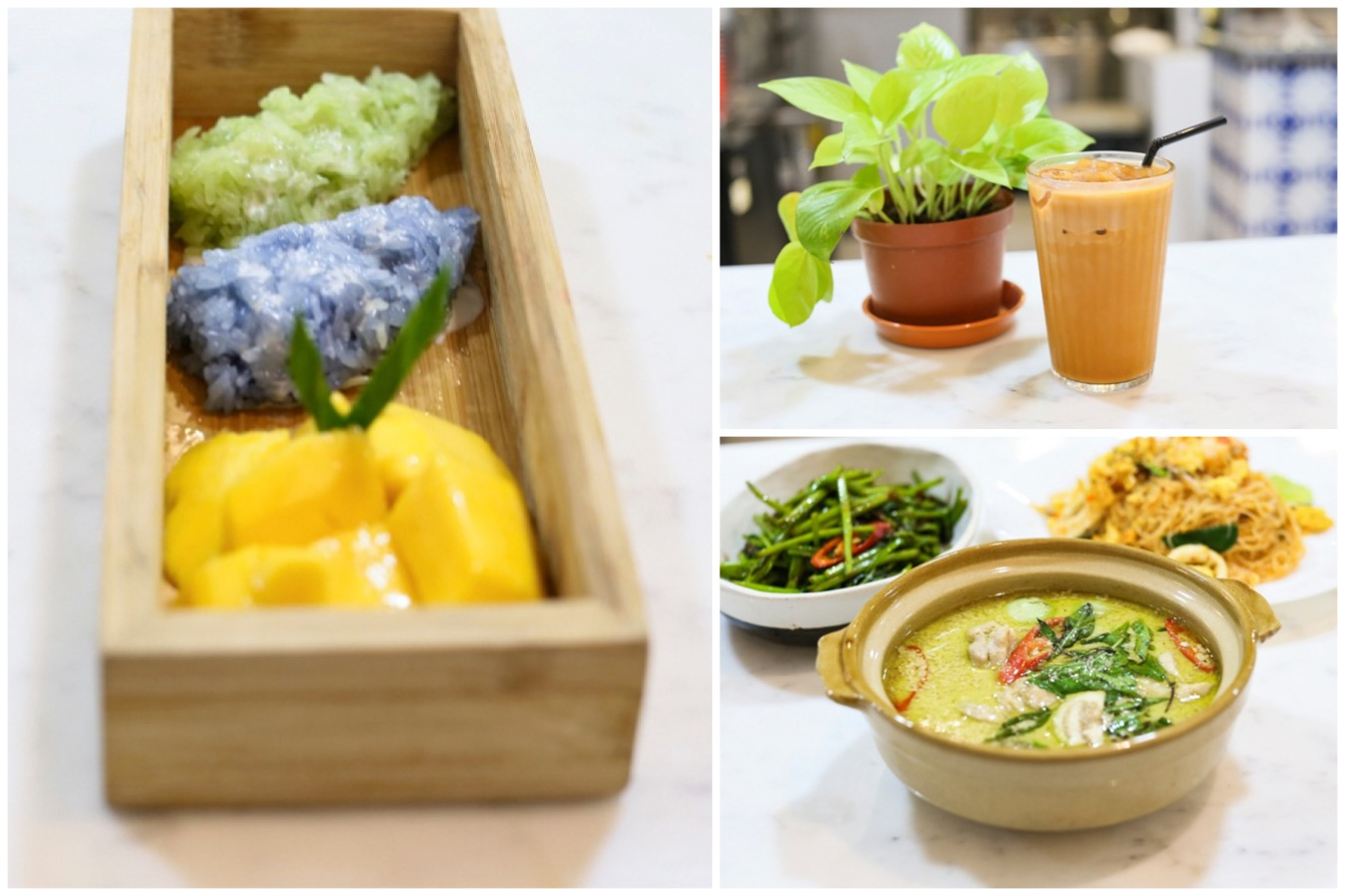 The Thai Street Co - Modern Thai Eatery At Alexandra, With Aroy Purple Mango Sticky Rice