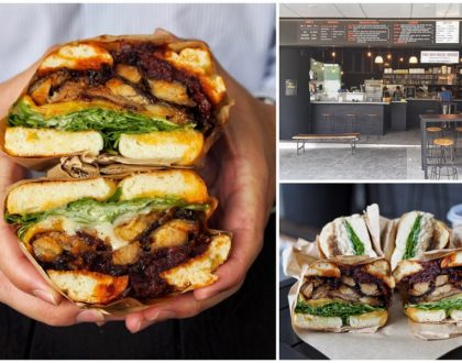 Two Men Bagel House 2.0 – Bagel Specialty Store At Novena, With Sticky BBQ Ribs Bagel