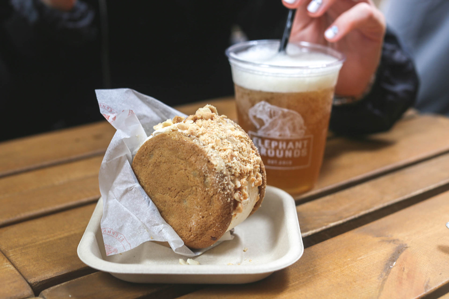 Elephant Grounds - Hipster Coffee Joint In Hong Kong Popular For Ice Cream Sandwiches