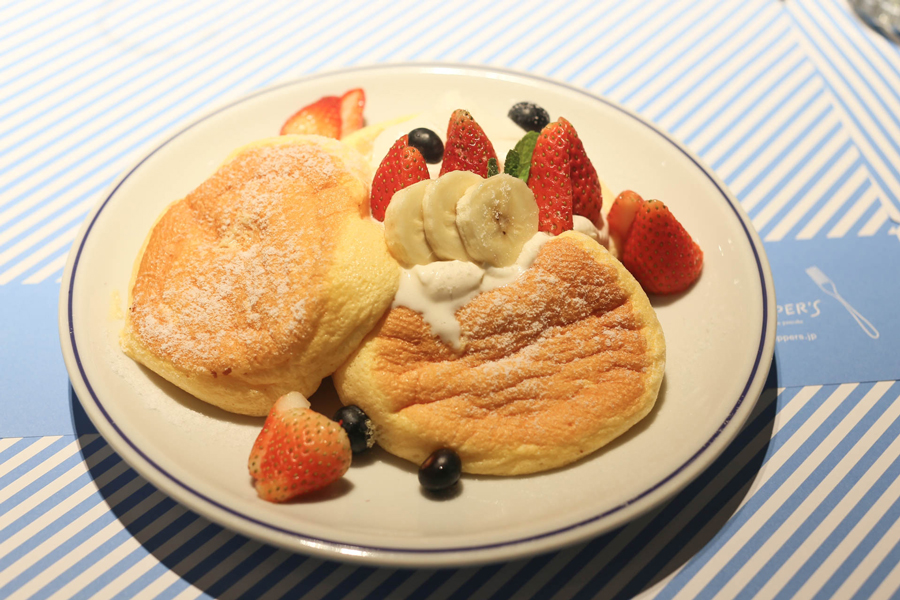 Flippers Hong Kong – Famous Kiseki Soufflé Pancakes From Japan, Found At Causeway Bay
