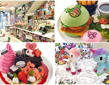 Tokidoki Café Singapore – World's 1st Tokidoki Pop-Up Café, Ending Its Run 1st July