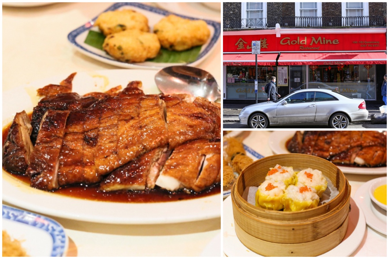 Gold Mine 金山楼 - Said To Be The Best Chinese Restaurant In London, With Special Roast Duck