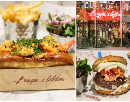 Burger and Lobster - Singapore Chilli Lobster Rolls, Fresh Lobsters And Average Burgers, At London
