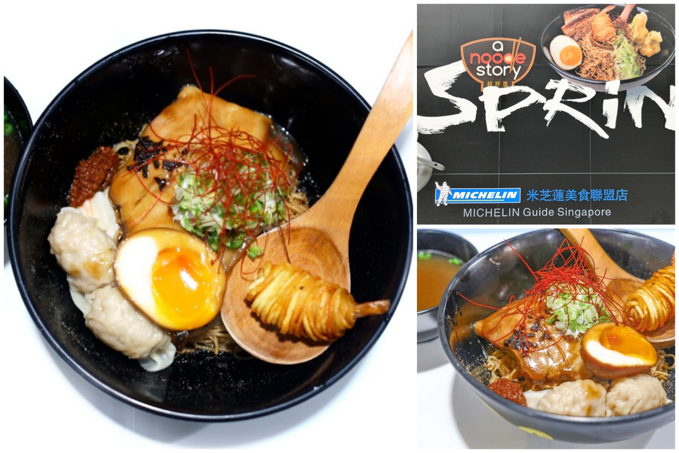 "A Noodle Story Hong Kong – ""Singapore Ramen"" Opening With Tian Tian Chicken Rice At Causeway Bay"