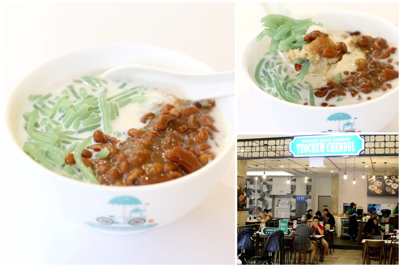 Penang Road Famous Teochew Chendul Singapore - Popular Chendol Shop Opens At Northpoint City, Yishun