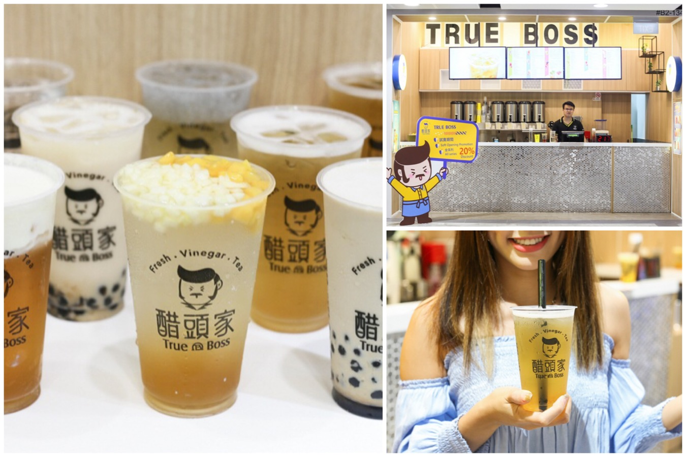 True Boss 醋頭家 – Popular Fruit Vinegar Tea Shop From Taiwan Opens At Northpoint City