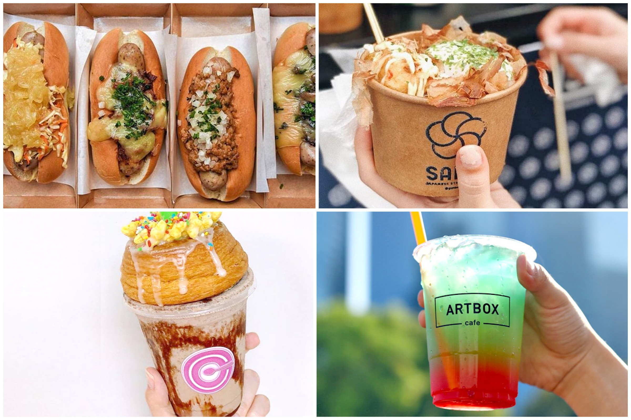 Artbox Singapore 2018 - 10 Food & Drink Stalls To Look Forward To, At Bayfront 25 to 27 May & 1 to 3 June