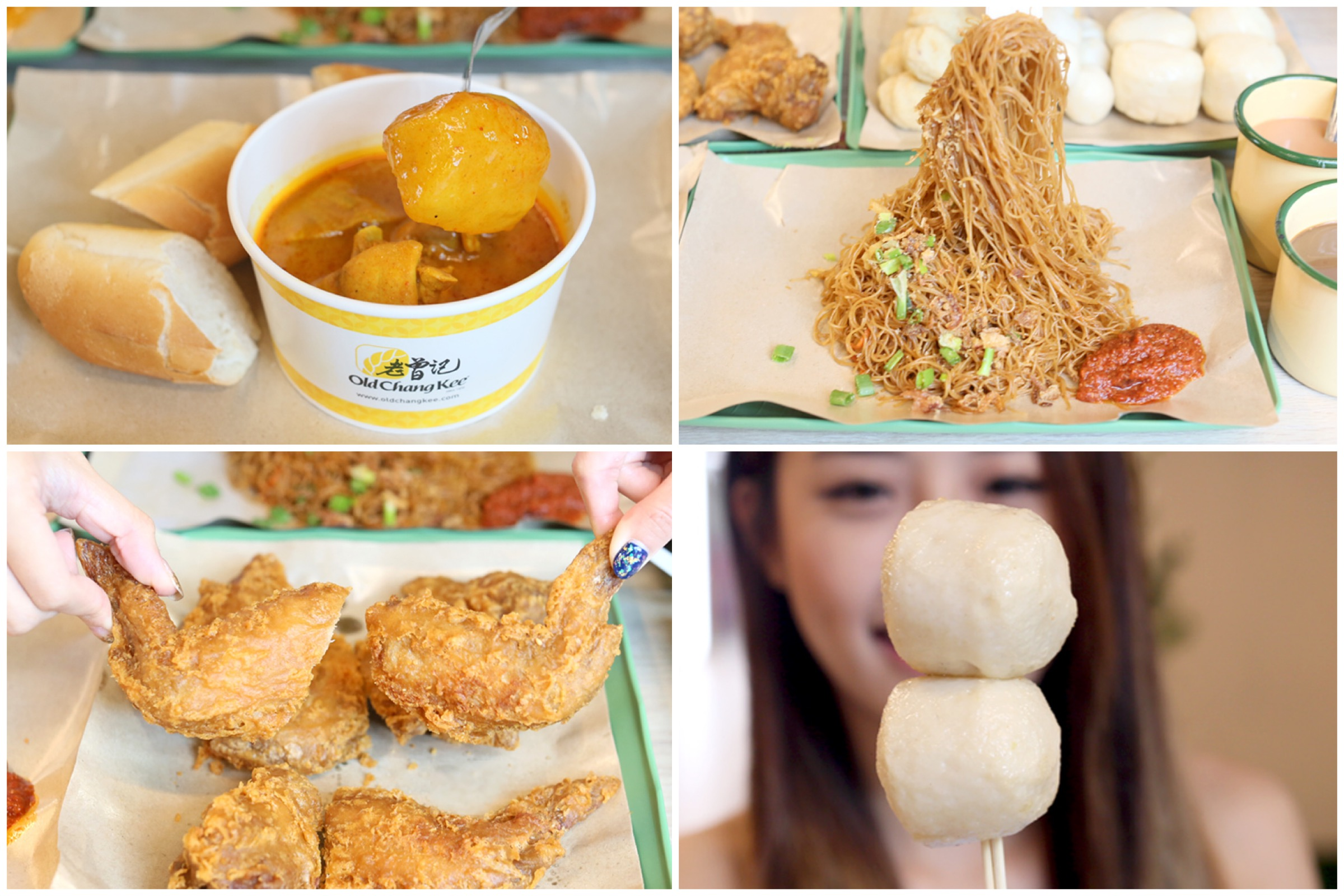 Old Chang Kee Cafe - Nasi Lemak, Bee Hoon And Favourite OCK Snacks At SingPost Centre