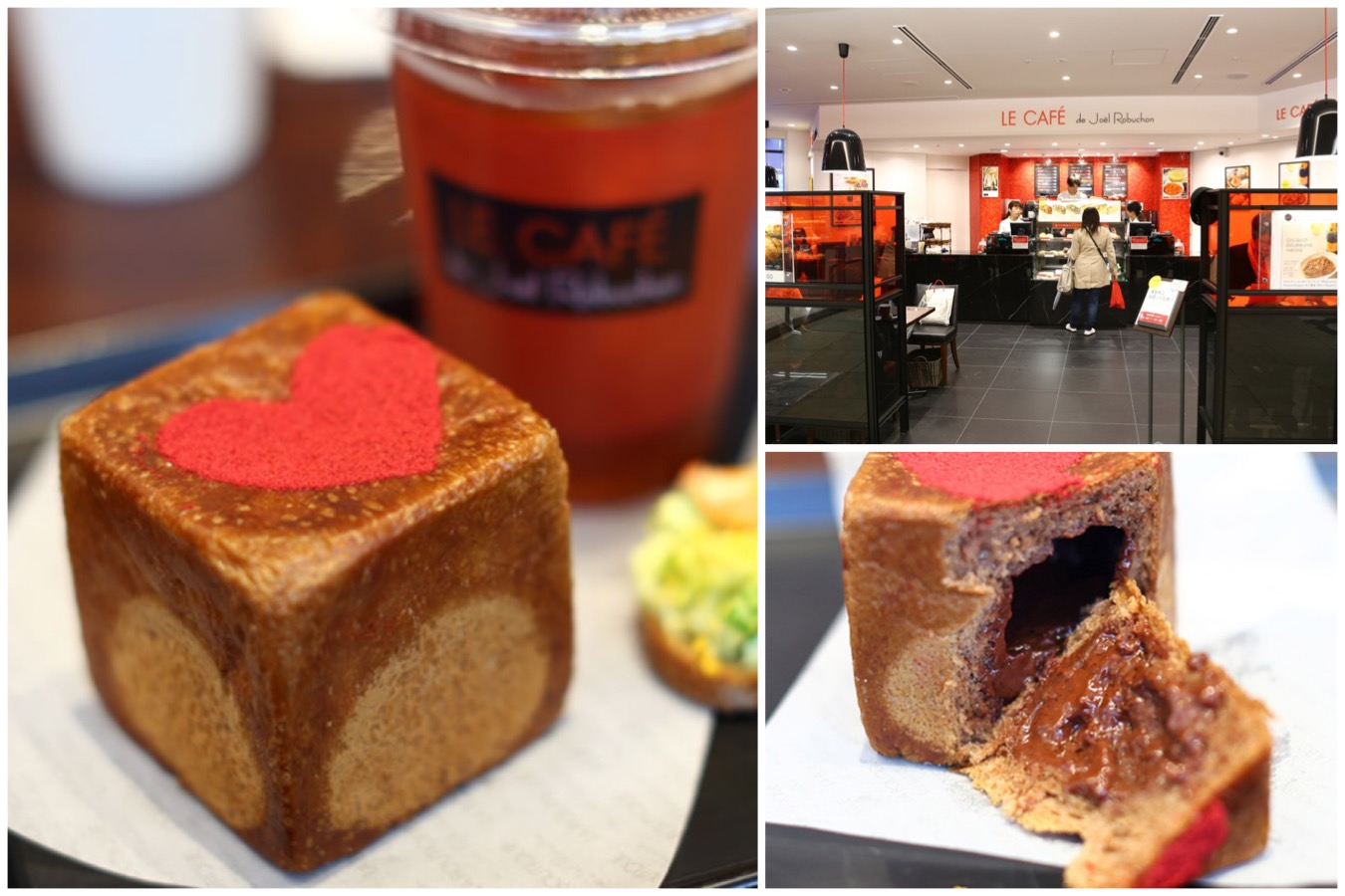 Le Café de Joël Robuchon - Bakery Cafe By The Most Starred Michelin Chef, At Shinjuku Tokyo