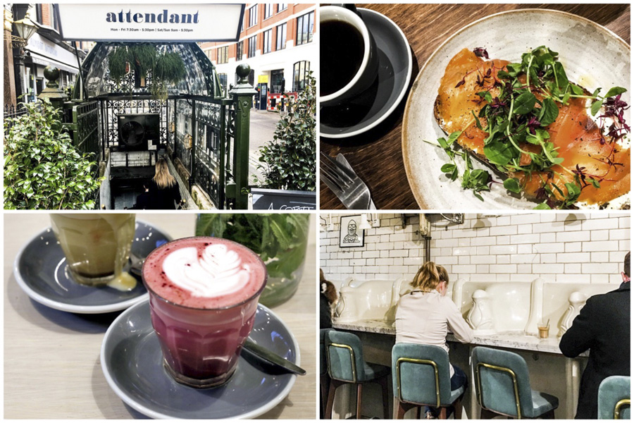 The Attendant - Café That Was Once A Victorian Toilet, At Fitzrovia London
