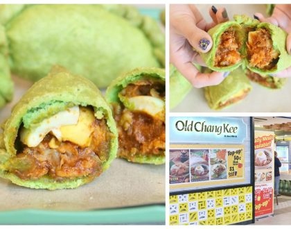 Old Chang Kee - The NEW Nasi Lemak Chicken'O, And OCK Café At SingPost Centre