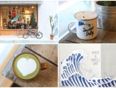 "Swell Co. Coffee - Surfing Themed Café With ""The Great Wave"" #OOTD Wall, At Da'an Taipei"