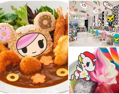 Tokidoki Café Singapore – World's 1st Tokidoki Pop-Up Café, Starting 29 March. Any Fans?