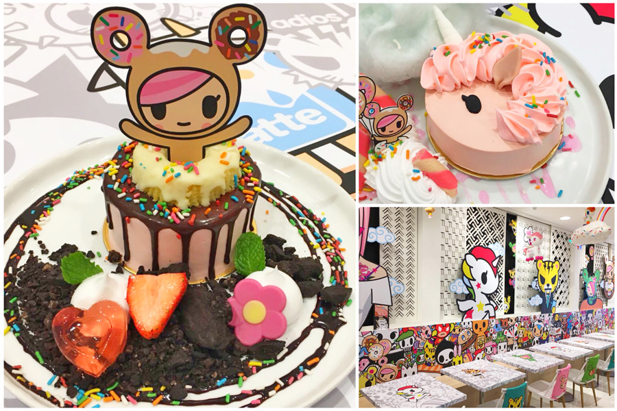 Tokidoki Café Singapore – World's 1st Tokidoki Pop-Up Café, Starting Tomorrow 29th March