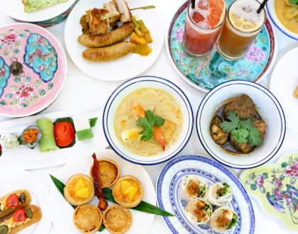 Atrium, Pan Pacific Singapore - Nostalgic Weekend High Tea Buffet With Peranakan Delights. COMPLIMENTARY Prosecco For DFD Readers