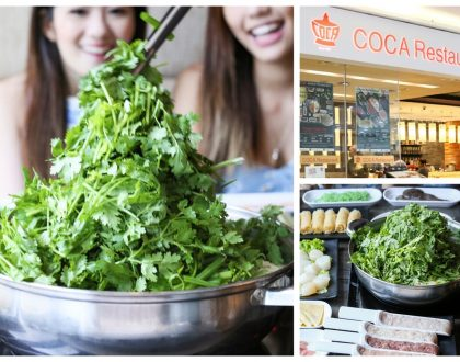 COCA Restaurants - 1st Over The Top Coriander Hotpot In Singapore, Get Up to 30% OFF