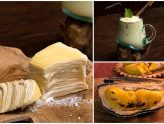 Double Durian - Baked Durians And Durian Mille Crepe, At Durian Specialty Cafe In Jalan Besar