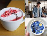 C. Through Cafe 씨스루 – Works Of Art On Coffee Created By Charming Korean Oppa Barista, At Itaewon Seoul