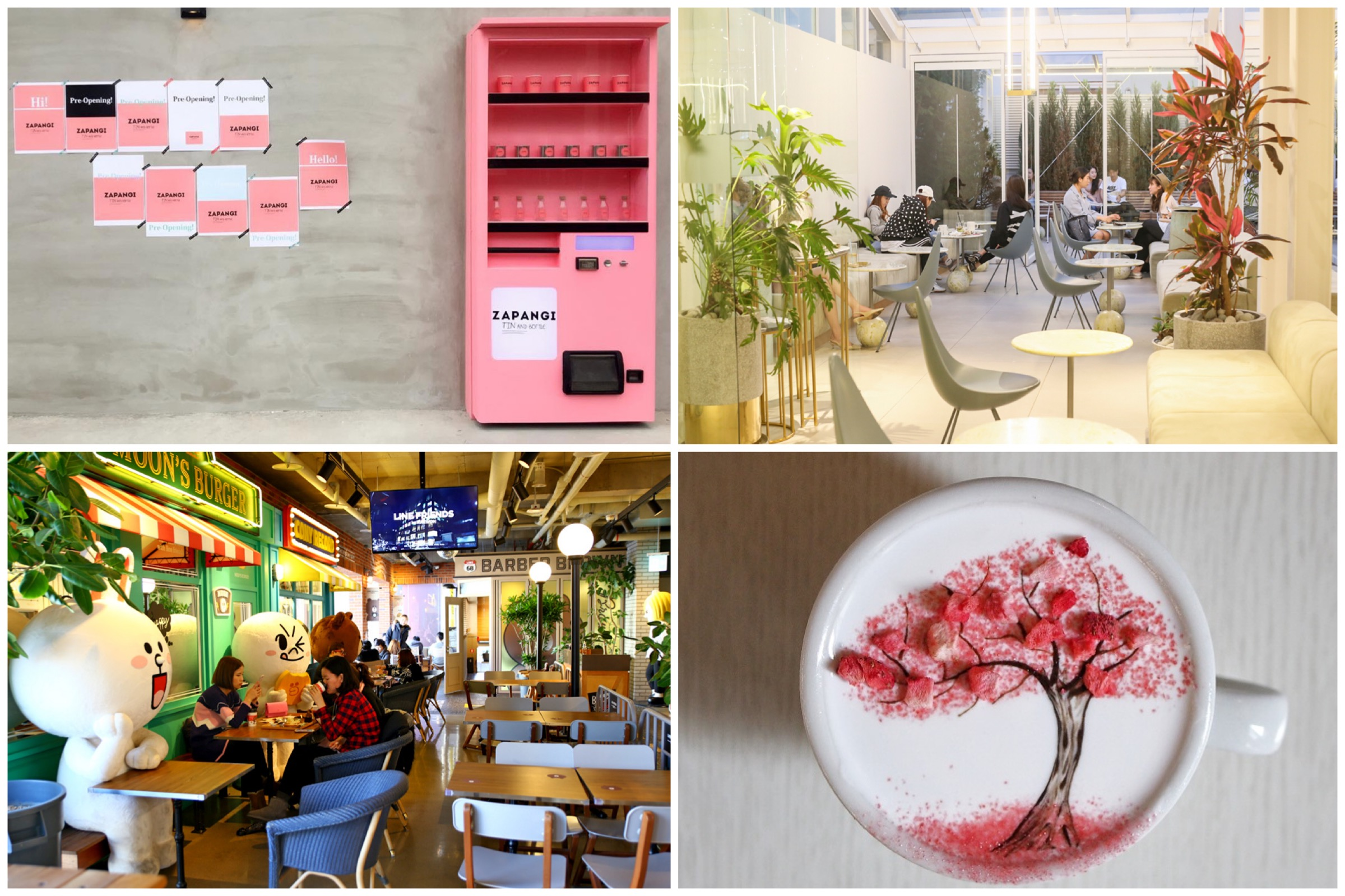 10 Most Instagrammable Cafes In Seoul - Café Onion, The Skyfarm And Zapangi Cafe Behind A Vending Machine