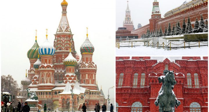 10 Must Visit Places & Restaurants In Moscow - Saint Basil's Cathedral, Krelim And The Metro Stations