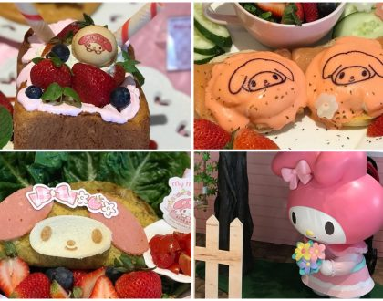 My Melody Café Singapore - A 1st Look At The Pink Food & Pink Cafe, Opening 7th June Suntec City