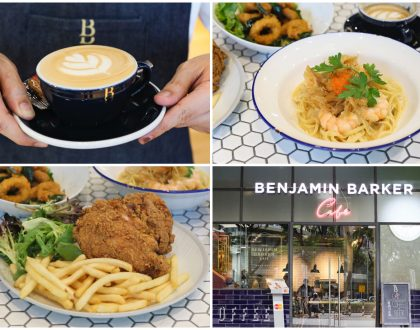 Benjamin Barker Café - Popular Menswear Label Opens Stylish Cafe At Orchard Cineleisure