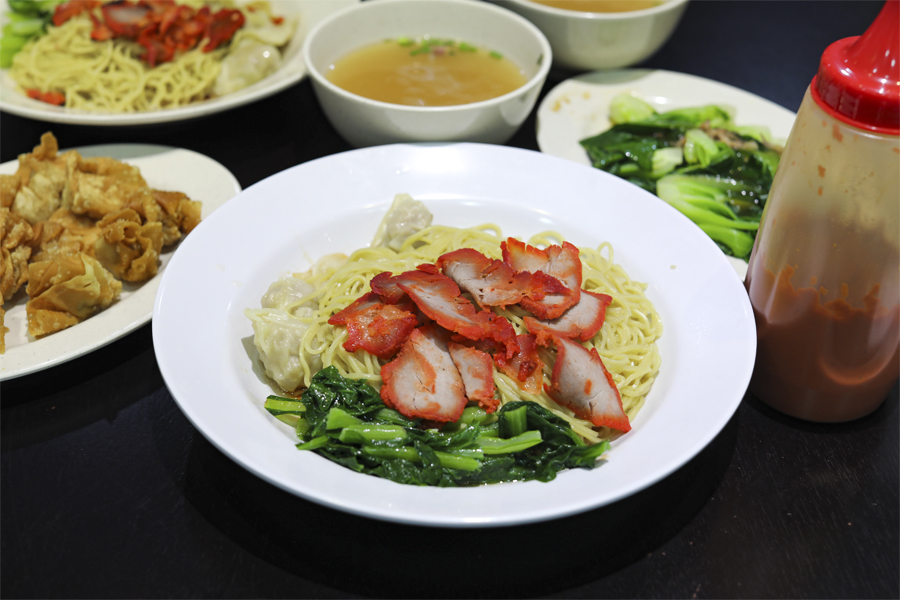 Eng's Char Siew Wantan Mee - NEW Eng's Wanton Noodles Just Across The Road, At Tanjong Katong