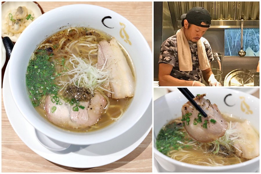 Konjiki Hototogisu Singapore – 1 Michelin Star Ramen From Tokyo Cooked With Clams And Truffle, Located At CHIJMES