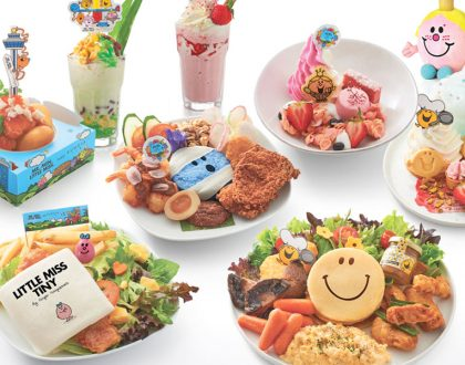 Mr. Men & Little Miss Cafe Singapore - Mr Bump Nasi Lemak, Little Miss Tiny Burgers, And Mr Happy Pancakes
