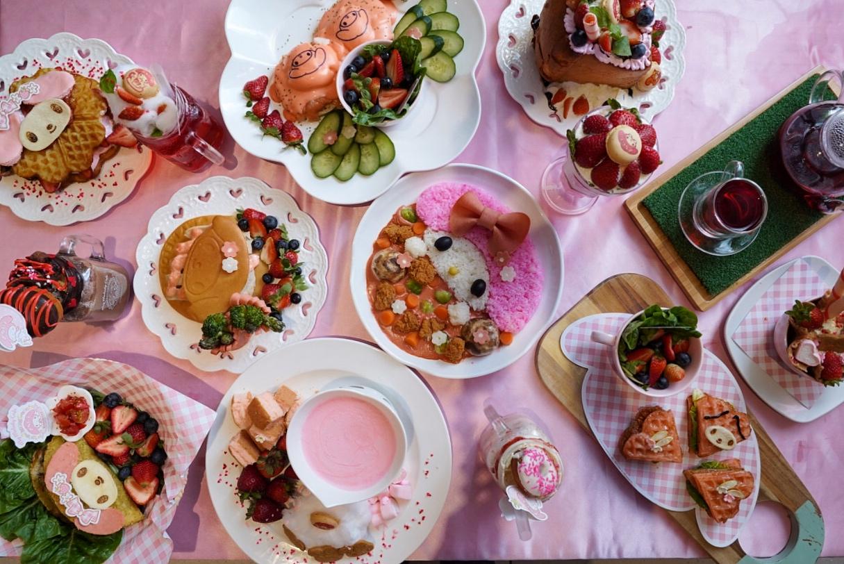My Melody Café Singapore - Pink Food & Pink Cafe At Suntec City