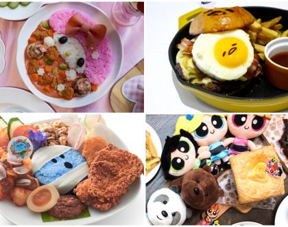 11 Themed Cafes In Singapore - Enter The Worlds Of Mr. Men & Little Miss, Harry Potter And My Melody