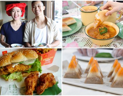 Singapore Food Festival – More Than 20 Foodie Events, Including The 50 Cents Fest and Curry Day