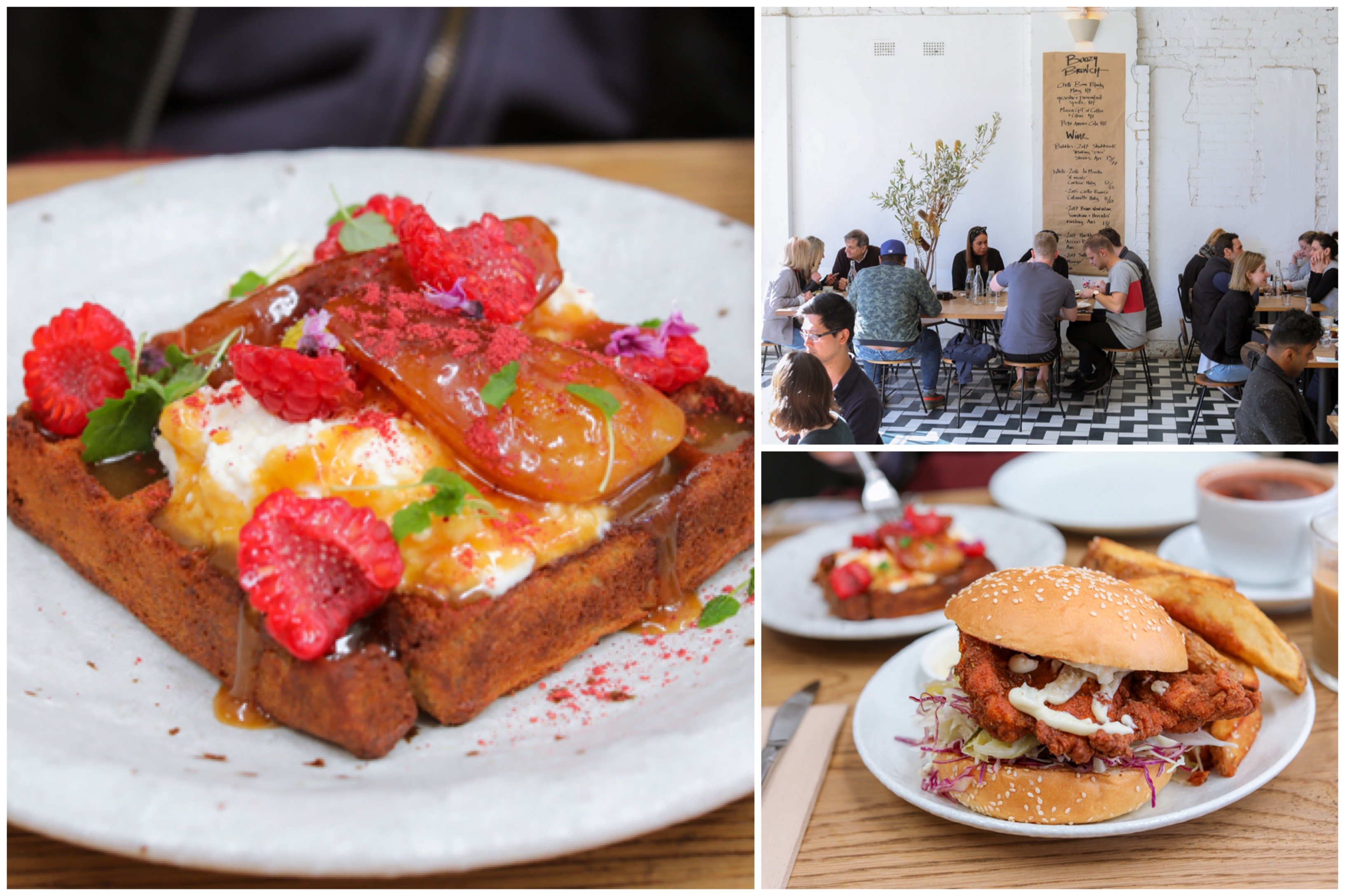 Mecca Coffee - One Of Sydney's Top Coffee Places, With Industrial Chic And Pretty Waffles