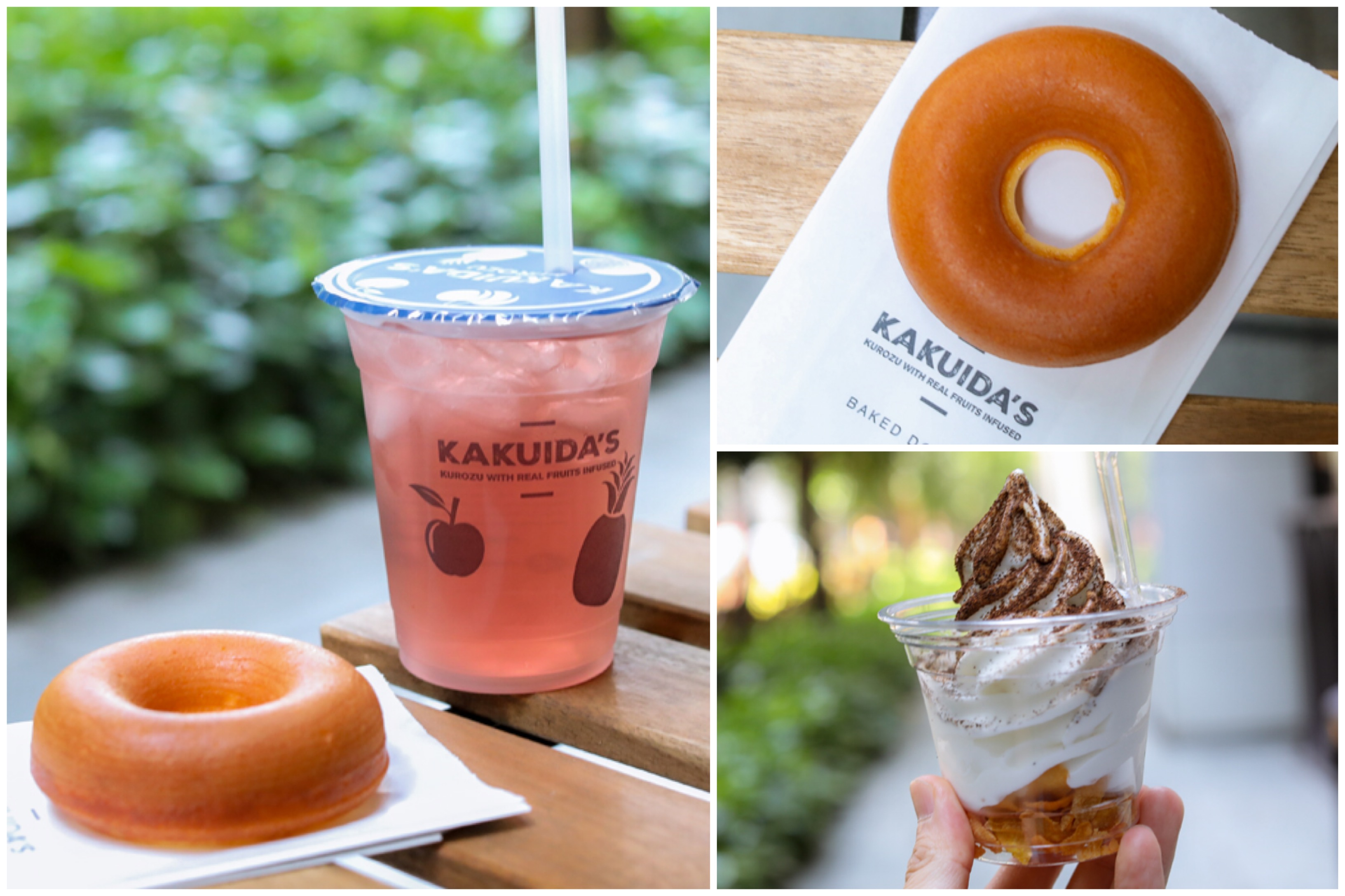 Kakuida's Kurozu - Japanese Vinegar Drink & Donut Shop Opens In Singapore, At Icon Village