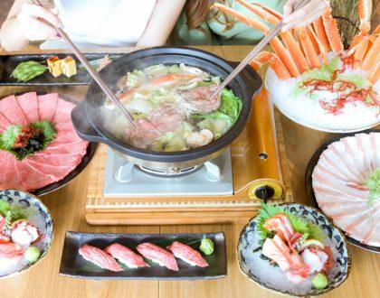 EN Sakaba - All-You-Can-Eat Miyazaki Wagyu & Premium Queen Crab Japanese Hotpot Buffet, At Capital Tower & JEM